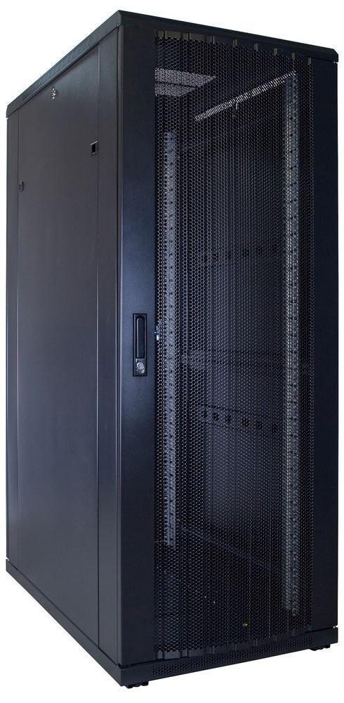 Afbeelding van 32U patchkast met geperforeerde voordeur (BxDxH) 600x1000x1600mm