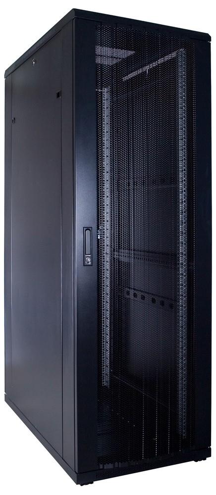 Afbeelding van 37U patchkast met geperforeerde voordeur (BxDxH) 600x1000x1800mm