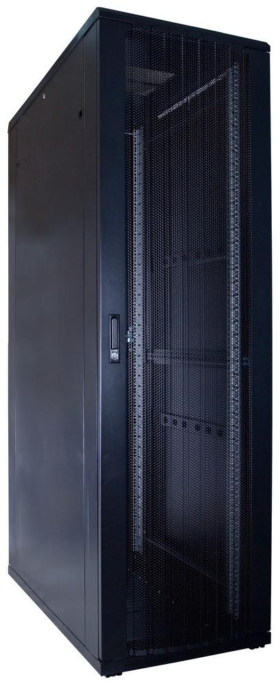 Afbeelding van 42U patchkast met geperforeerde voordeur (BxDxH) 600x1200x2000mm