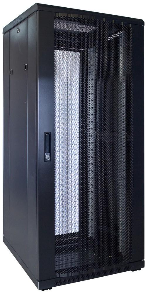 Afbeelding van 27U patchkast met geperforeerde voordeur (BxDxH) 600x600x1400mm