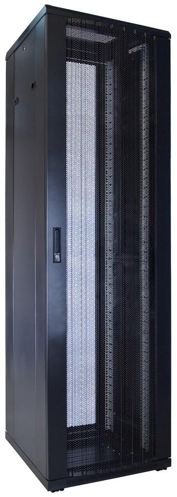 Afbeelding van 42U patchkast met geperforeerde voordeur (BxDxH) 600x600x2000mm
