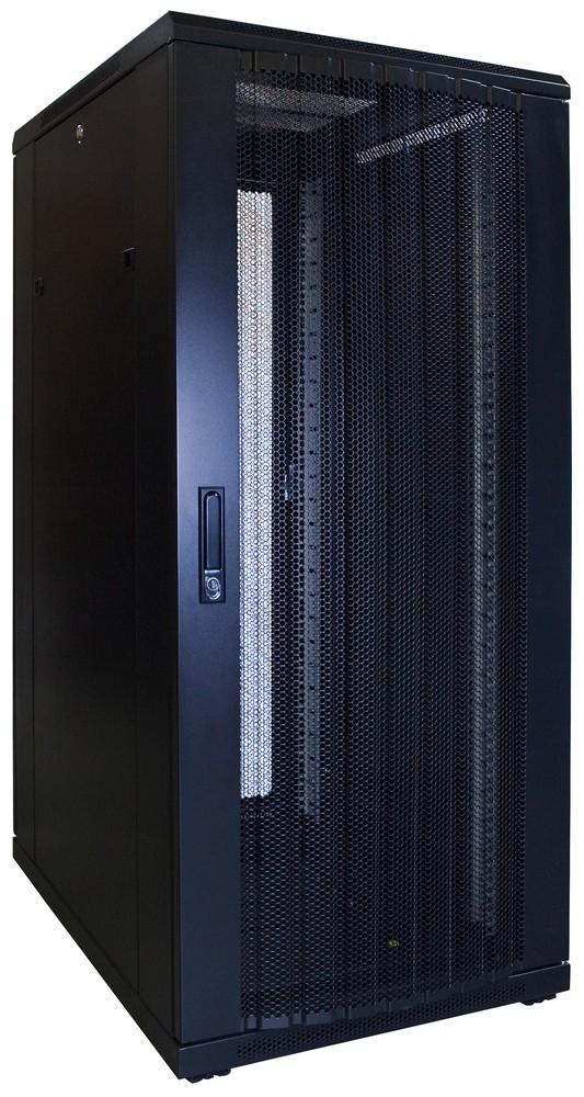 Afbeelding van 27U patchkast met geperforeerde voordeur (BxDxH) 600x800x1400mm