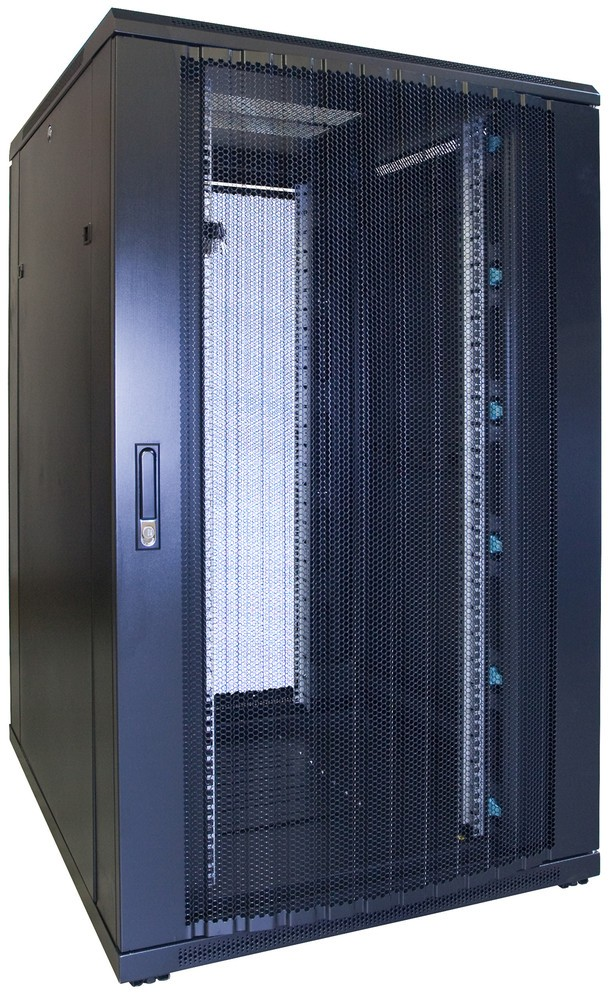 Afbeelding van 27U patchkast met geperforeerde voordeur (BxDxH) 800x1000x1400mm