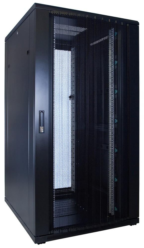 Afbeelding van 32U patchkast met geperforeerde voordeur (BxDxH) 800x1000x1600mm