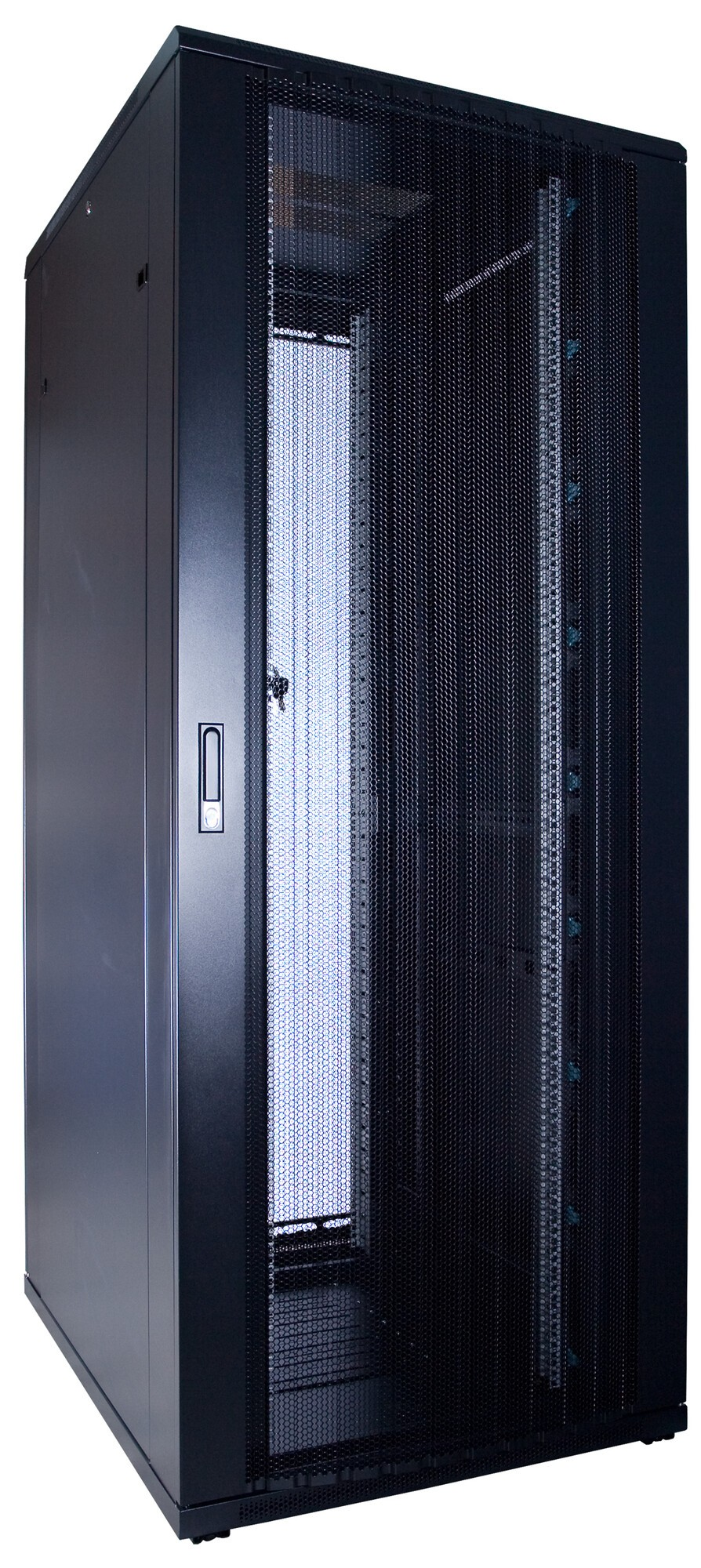 Afbeelding van 47U patchkast met geperforeerde voordeur (BxDxH) 600x800x2200mm