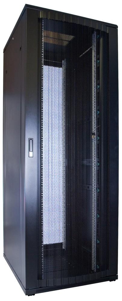 Afbeelding van 47U patchkast geperforeerde voordeur 800x1000x2260mm (BxDxH)