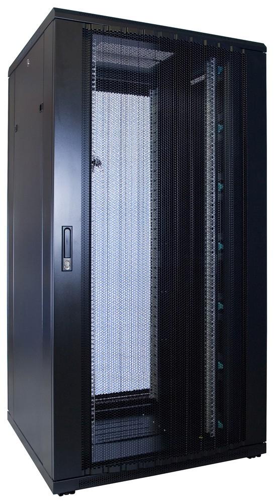 Afbeelding van 32U patchkast met geperforeerde voordeur (BxDxH) 800x800x1600mm