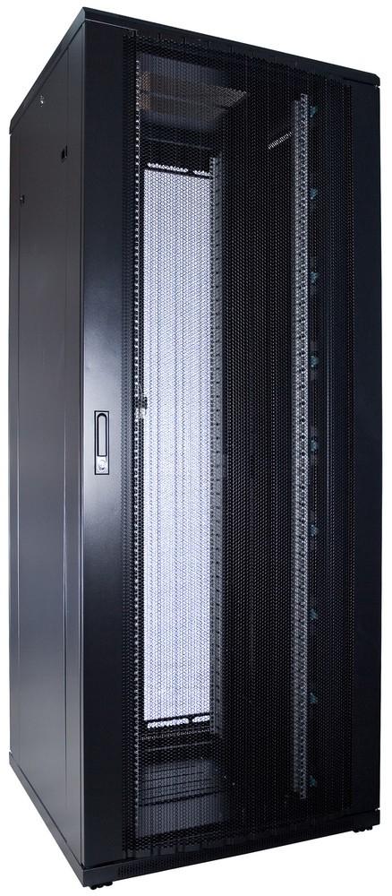 Afbeelding van 47U patchkast met geperforeerde voordeur (BxDxH) 800x800x2200mm