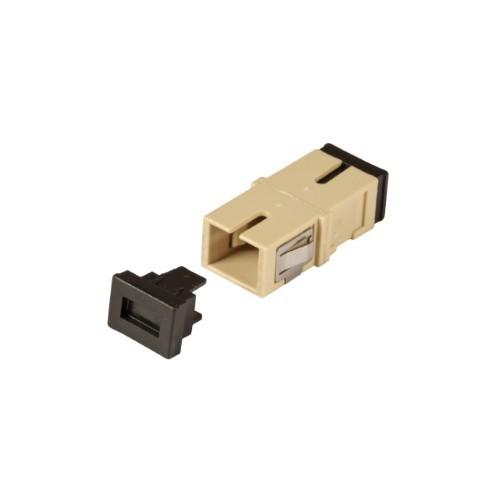 Afbeelding van Multimode keystone koppeling SC-SC simplex beige