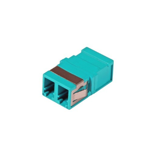 Afbeelding van Multimode keystone koppeling LC-LC duplex turquoise