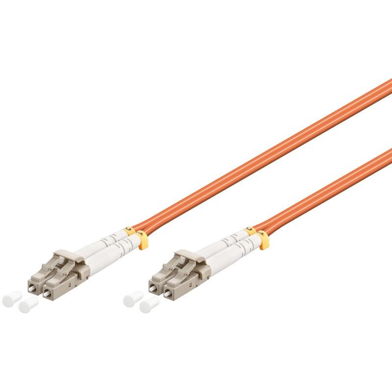 Afbeelding van Glasvezel kabel LC-LC OM2 (laser optimized) 1 m