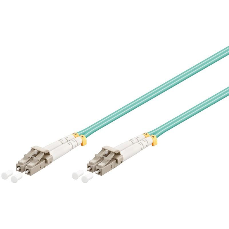 Afbeelding van Glasvezel kabel LC-LC OM3 (laser optimized) 1 m