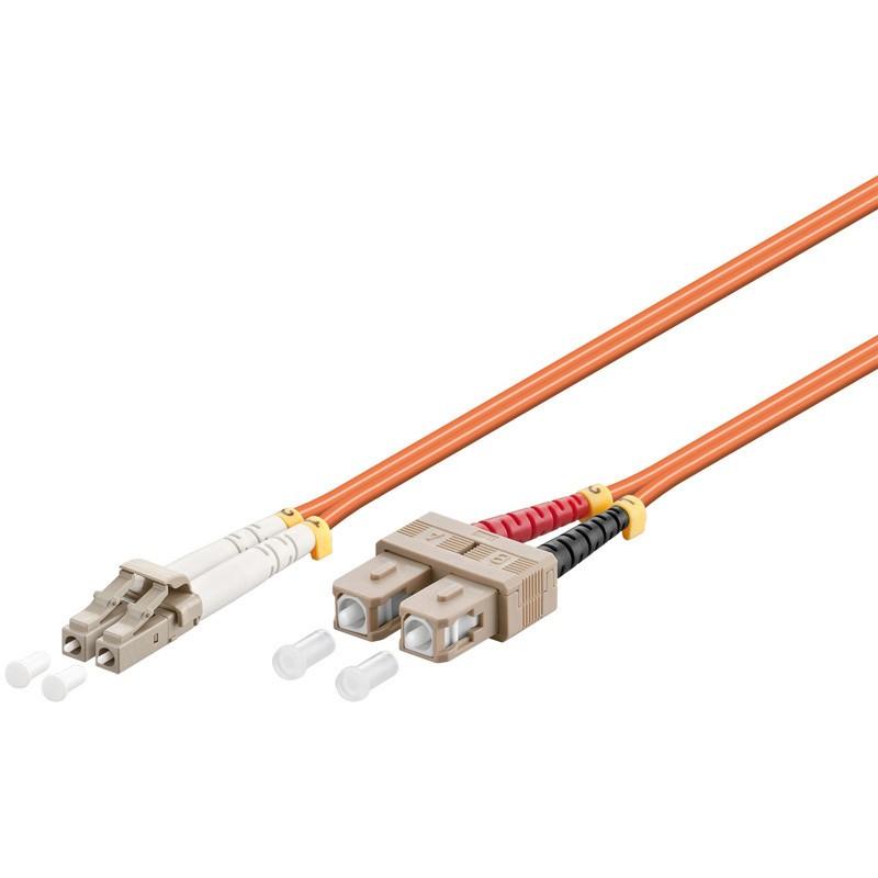 Afbeelding van Glasvezel kabel LC-SC OM2 (laser optimized) 0,5 m