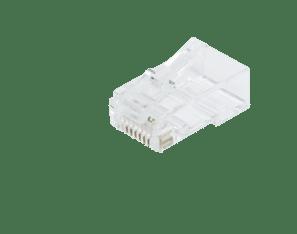 Afbeelding van CAT5 Connector RJ45 - Unshielded - voor solid en stranded kabels