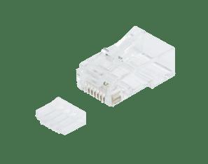 Afbeelding van CAT6 Connector RJ45 + Hulpstukje - Unshielded