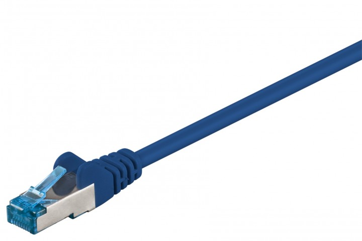 Afbeelding van CAT6a S/FTP (PIMF) 15m blauw