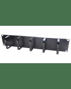 2U 19 inch metalen kabelhouder (19-CM02)