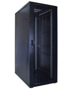 32U patchkast met geperforeerde voordeur (BxDxH) 600x1000x1600mm