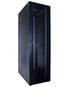 42U patchkast met geperforeerde voordeur (BxDxH) 600x1000x2000mm