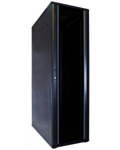 42U patchkast met glazen voordeur (BxDxH) 600x1200x2000mm
