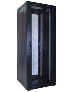 32U patchkast met geperforeerde voordeur (BxDxH) 600x600x1600mm