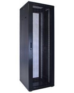 37U patchkast met geperforeerde voordeur (BxDxH) 600x600x1800mm