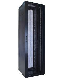 42U patchkast met geperforeerde voordeur (BxDxH) 600x600x2000mm