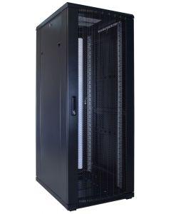 32U patchkast met geperforeerde voordeur (BxDxH) 600x800x1600mm