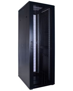 37U patchkast met geperforeerde voordeur (BxDxH) 600x800x1800mm