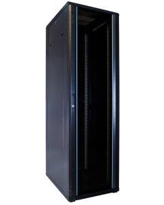 42U patchkast met glazen voordeur (BxDxH) 600x800x2000mm
