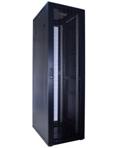42U patchkast met geperforeerde voordeur (BxDxH) 600x800x2000mm
