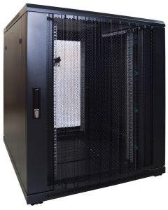 18U patchkast met geperforeerde voordeur (BxDxH) 800x1000x1000mm