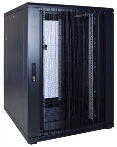22U patchkast met geperforeerde voordeur (BxDxH) 800x1000x1200mm