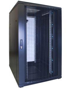 27U patchkast met geperforeerde voordeur (BxDxH) 800x1000x1400mm