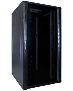 32U patchkast met glazen voordeur (BxDxH) 800x1000x1600mm