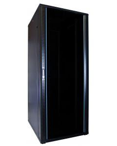 47U patchkast met glazen voordeur (BxDxH) 600x800x2200mm
