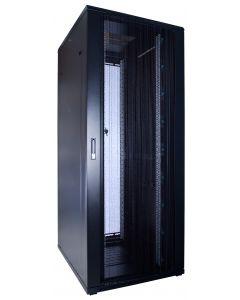 47U patchkast met geperforeerde voordeur (BxDxH) 600x800x2200mm