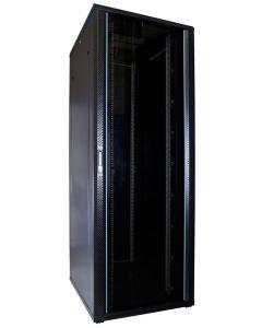 47U patchkast met glazen voordeur (BxDxH) 800x1000x2200mm