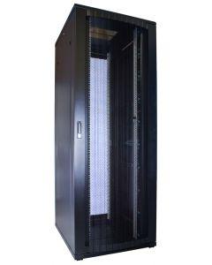 47U patchkast geperforeerde voordeur 800x1000x2260mm (BxDxH)