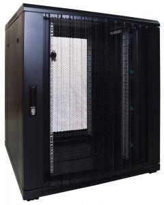 18U patchkast met geperforeerde voordeur (BxDxH) 800x800x1000mm