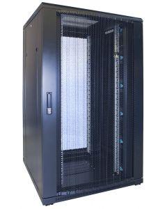 27U patchkast met geperforeerde voordeur (BxDxH) 800x800x1400mm