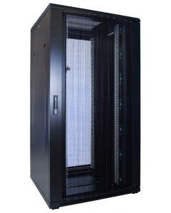 32U patchkast met geperforeerde voordeur (BxDxH) 800x800x1600mm