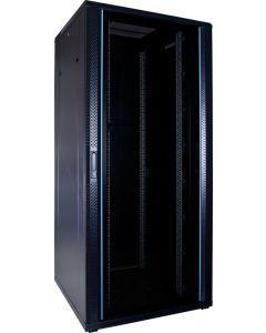 37U patchkast met glazen voordeur (BxDxH) 800x800x1800mm