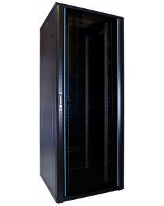 47U patchkast met glazen voordeur (BxDxH) 800x800x2200mm