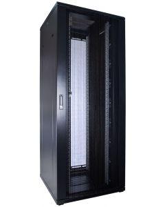 47U patchkast met geperforeerde voordeur (BxDxH) 800x800x2200mm