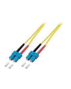 OS2 duplex glasvezel kabel SC-SC 1m