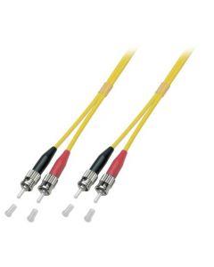 OS2 duplex glasvezel kabel ST-ST 3m