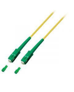 OS2 simplex glasvezel kabel SC/APC-SC/APC 7,50m
