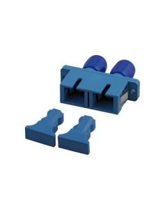 Singlemode koppeling SC-ST duplex blauw