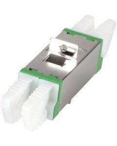 Singlemode koppeling E2000-E2000 duplex groen
